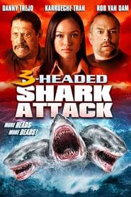 El ataque del tiburón de tres cabezas Online (2015) Completa en Español Latino