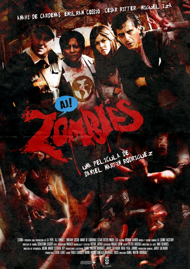 Aj Zombies Online (2017) Completa en Español Latino